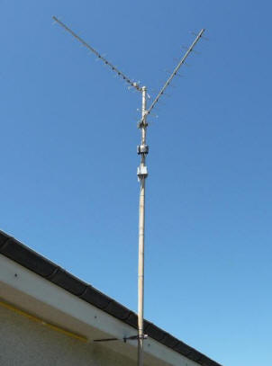 fabrication antenne TNT