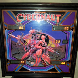 restauration flipper bally cybernaut