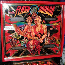 restauration flipper bally flash gordon
