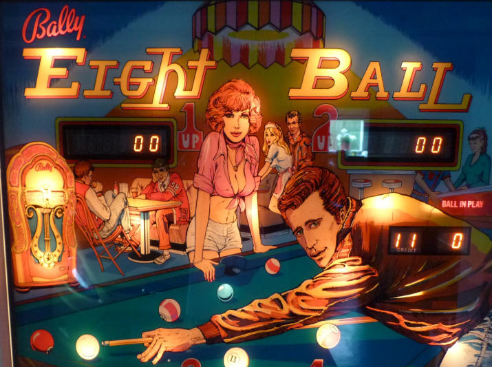 fronton plateau flipper eightball bally
