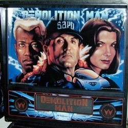 Restauration flipper Williams Demolition Man