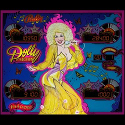 Restauration flipper Bally Dolly Parton