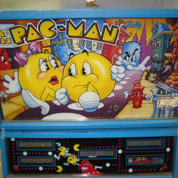 Restauration flipper Bally Pacman