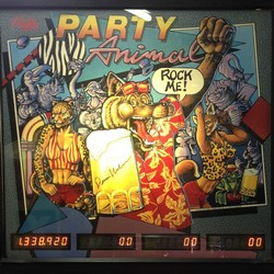 Restauration flipper Bally Party Animal