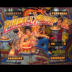 Restauration flipper Zaccaria Pinball Champ 82