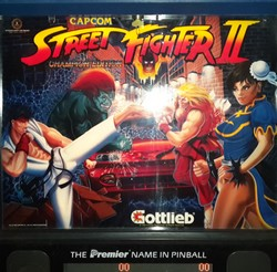 Restauration flipper Gottlieb Street Fighter II