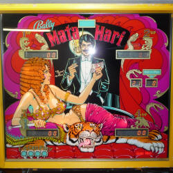 restauration flipper bally mata hari