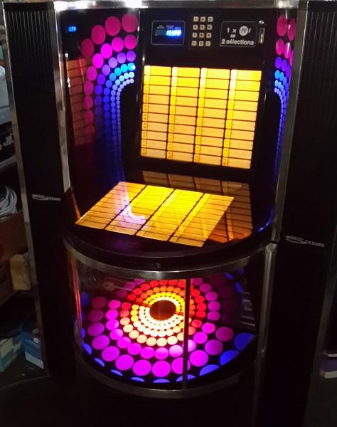 juke box seeburg disco 1. Black Bedroom Furniture Sets. Home Design Ideas